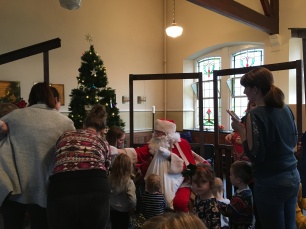Santa Claus at Toddlers